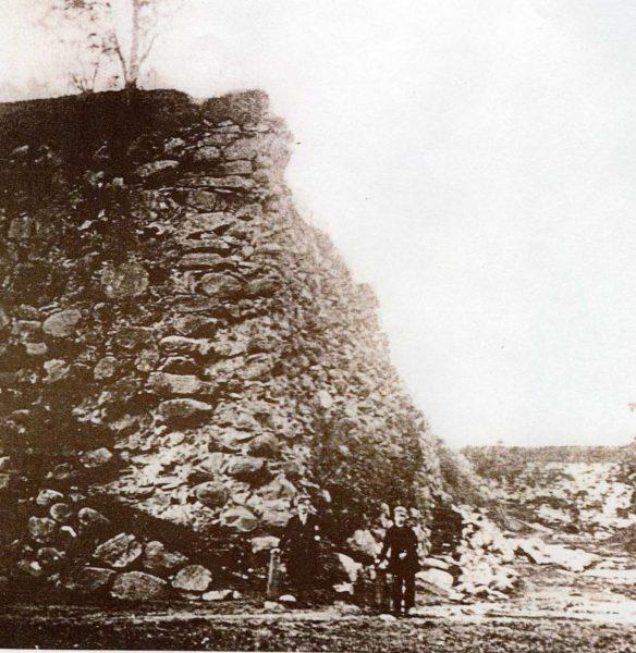 En del av Bastion Adolphus