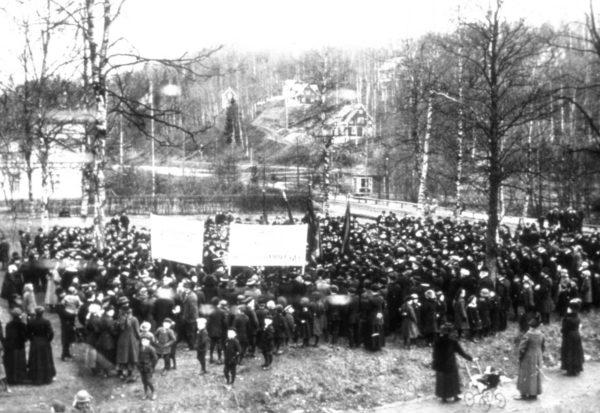 Maj demonstration