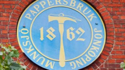 Munksjö pappersbruks logotyp