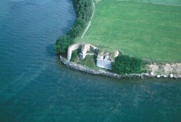 Borgen vid Näs, som den ser ut i dag