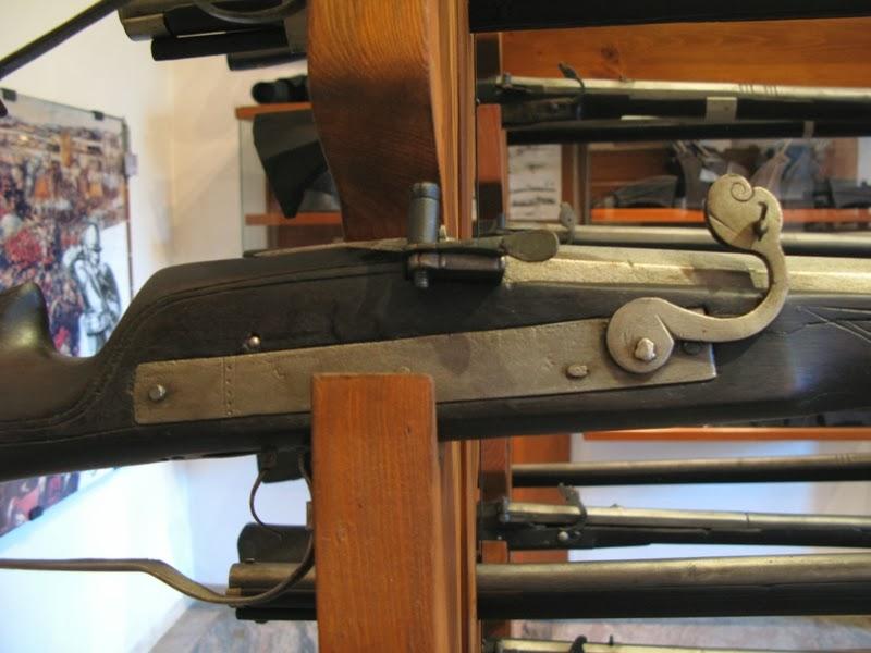 Luntlås på gevär