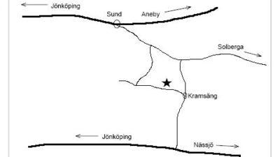 Karta till kramsäng