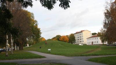 Nutida bild på Lustig kulle.