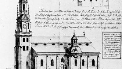 ritning kyrka