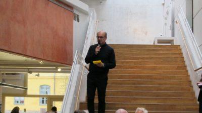 Sergei Muchin inleder talarlistan