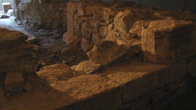 Kanonport i bastion Carolus norra flank