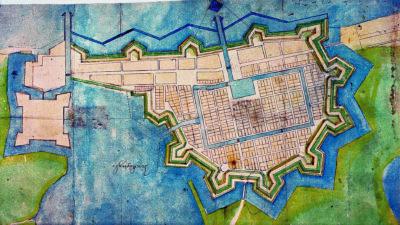 Den planerade fästningsstaden Jönköping. Hans Flemings förslag från 1619