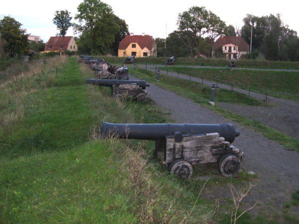 Bastion Konungen - en av Kristianstads 10 bastioner