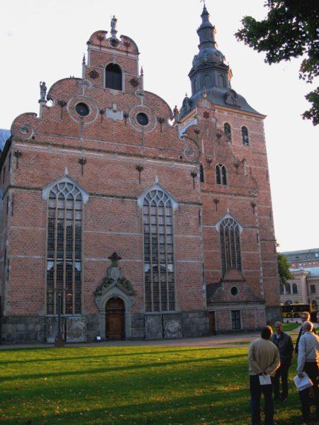 Heliga Trefaldighets kyrka, invigd 1628