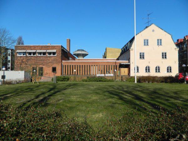 Prästgårdstomten i Kristianstad idag