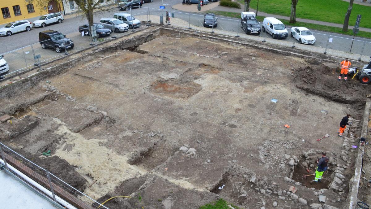 Platsen där Kristianstads första prästgård låg