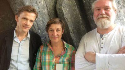 Hans Ruin, Lotten Gustafsson och Johan Redin