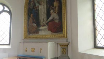 Altartavlan i Ås kyrka