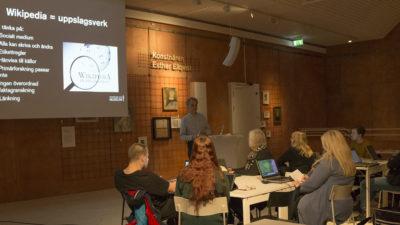 En presentation av Wikimedia