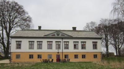 Fasaden på Rosenlunds herrgård.