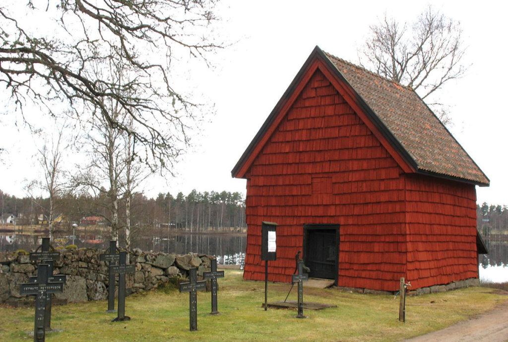 Boden som idag är landets näst äldsta daterade träbyggnad.