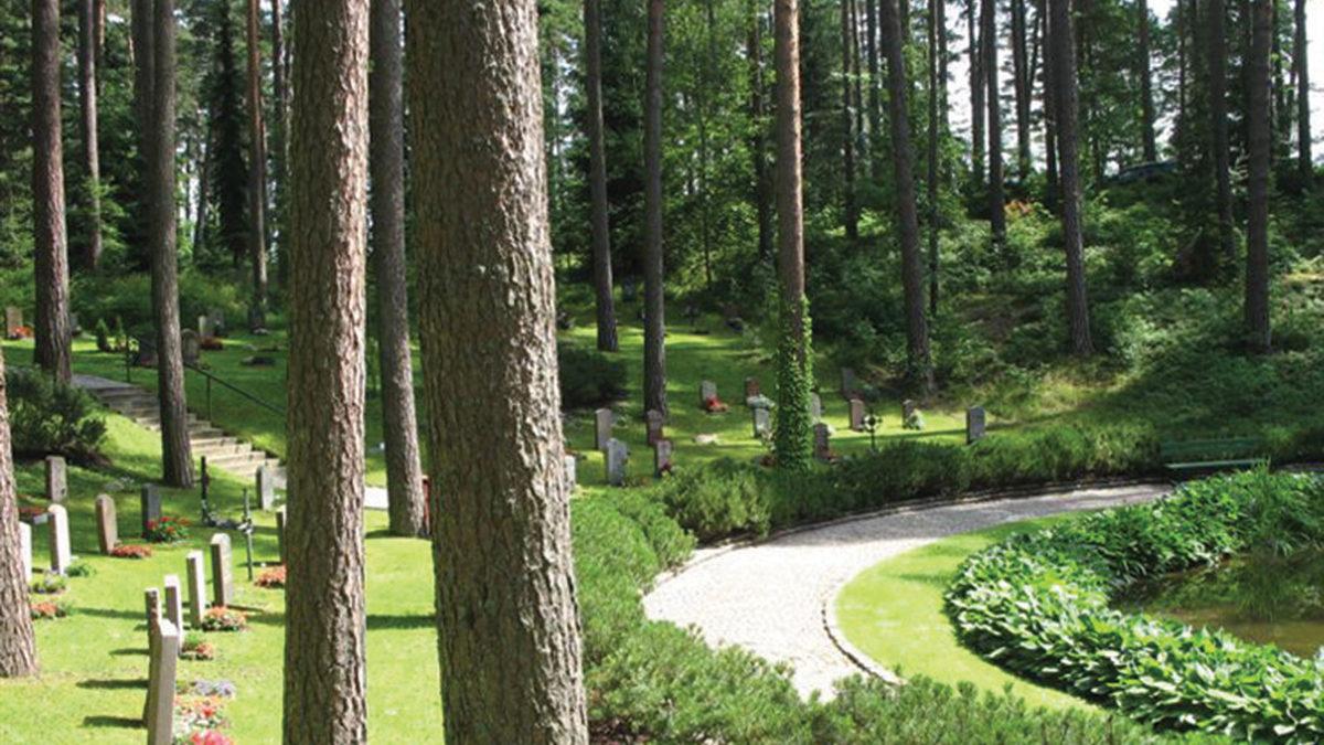 Skogskyrkogården.
