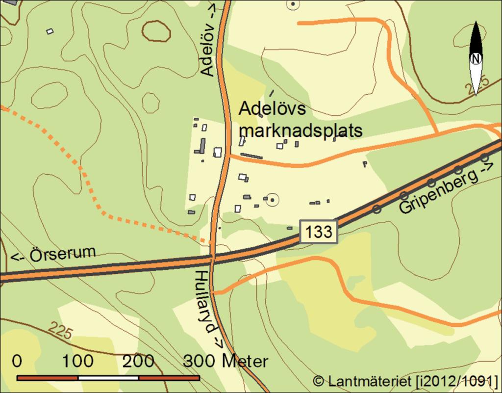 Karta över platsen.