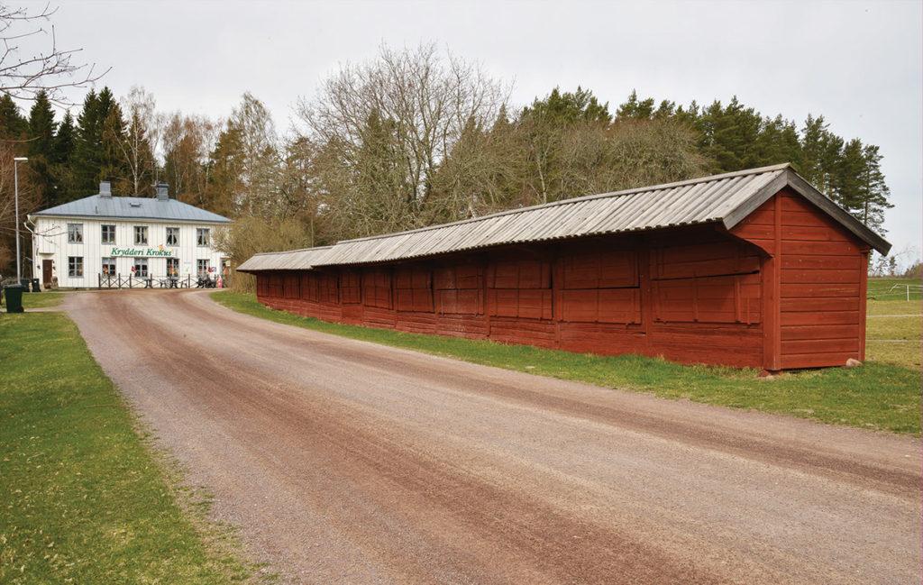 Marknadsbodarna i Adelöv.