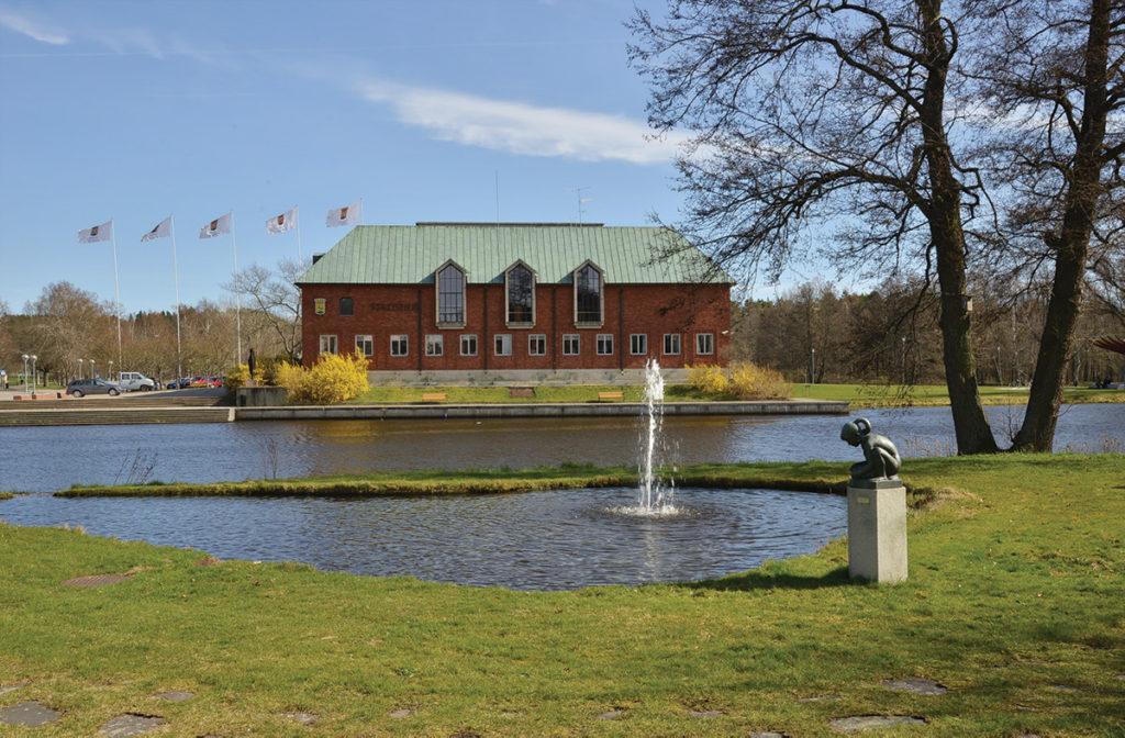 Stadshuset i Tranås.
