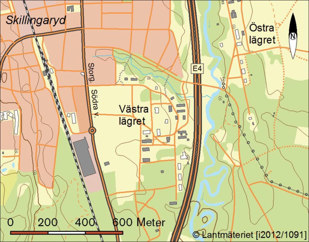 Bebyggelsen på Västra lägret
