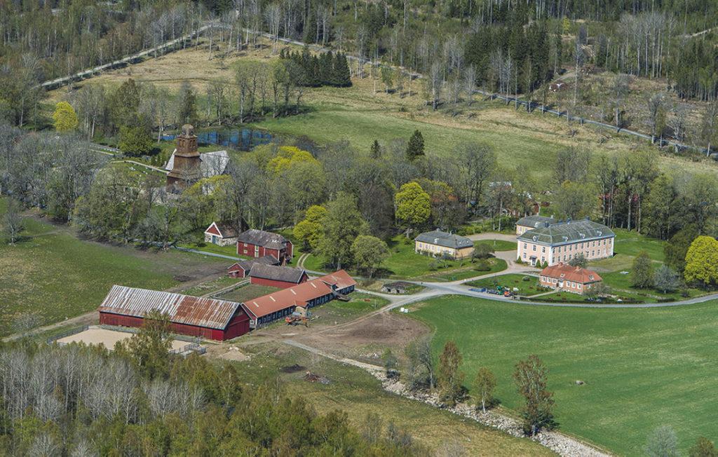 Nydala kloster flygfoto