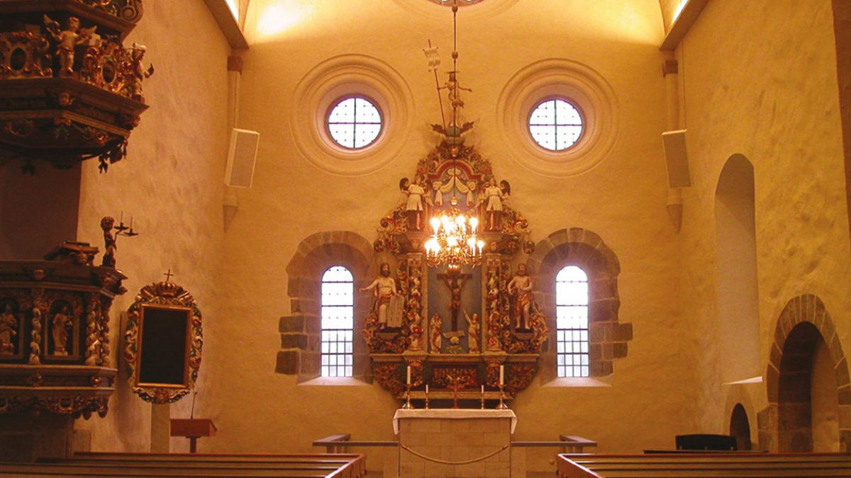Koret i Nydala kyrka