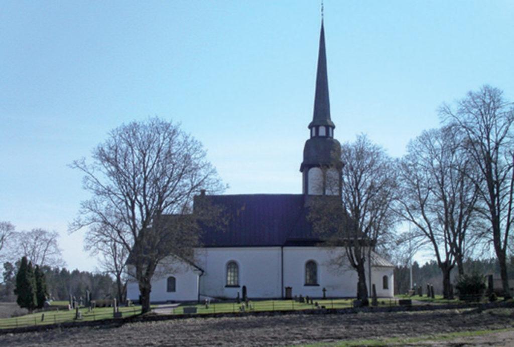 Bredestads kyrka från norr.