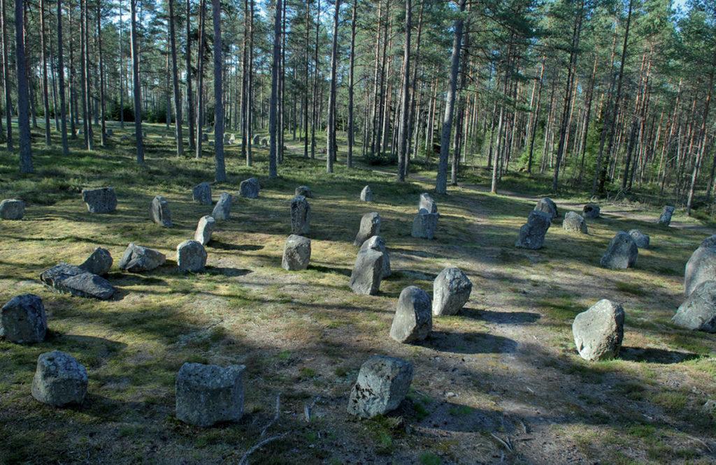 Domarringarnas resta stenar.