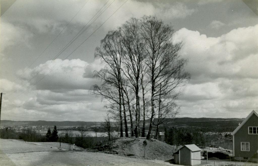 Domarkullen som den och omgivningarna såg ut 1935.