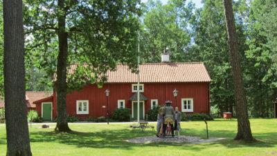 Foto på prästgården.