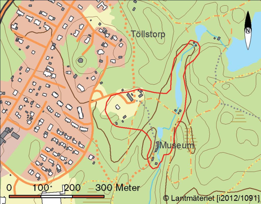 Karta över om området.