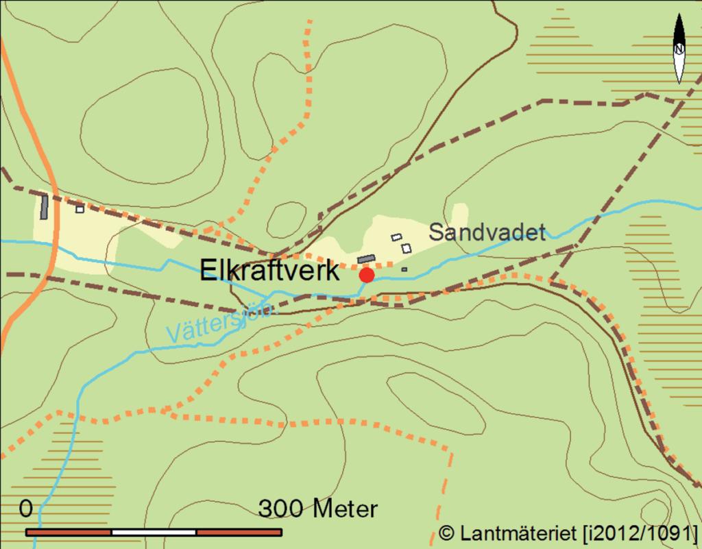 Karta över området.