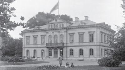 Lyckås herrgård på en bild tagen före 1905.