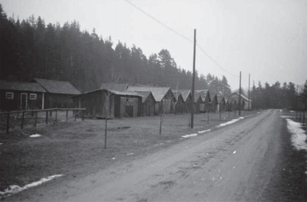 Kyrkstallarna 1943.