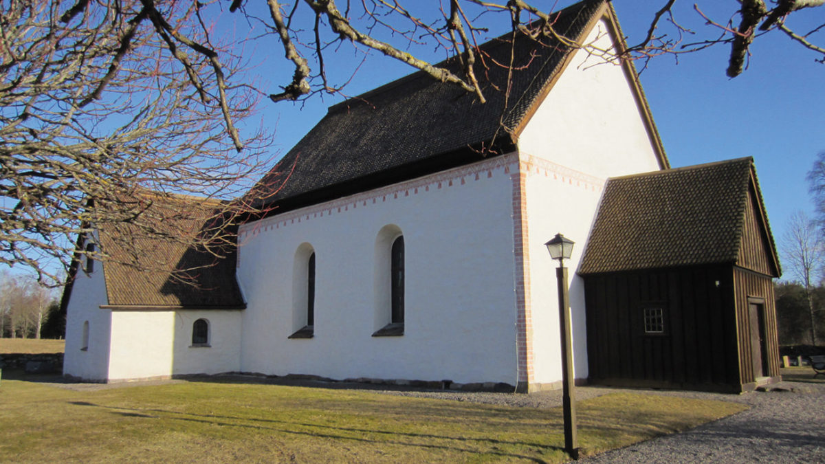 Foto av kyrkan.