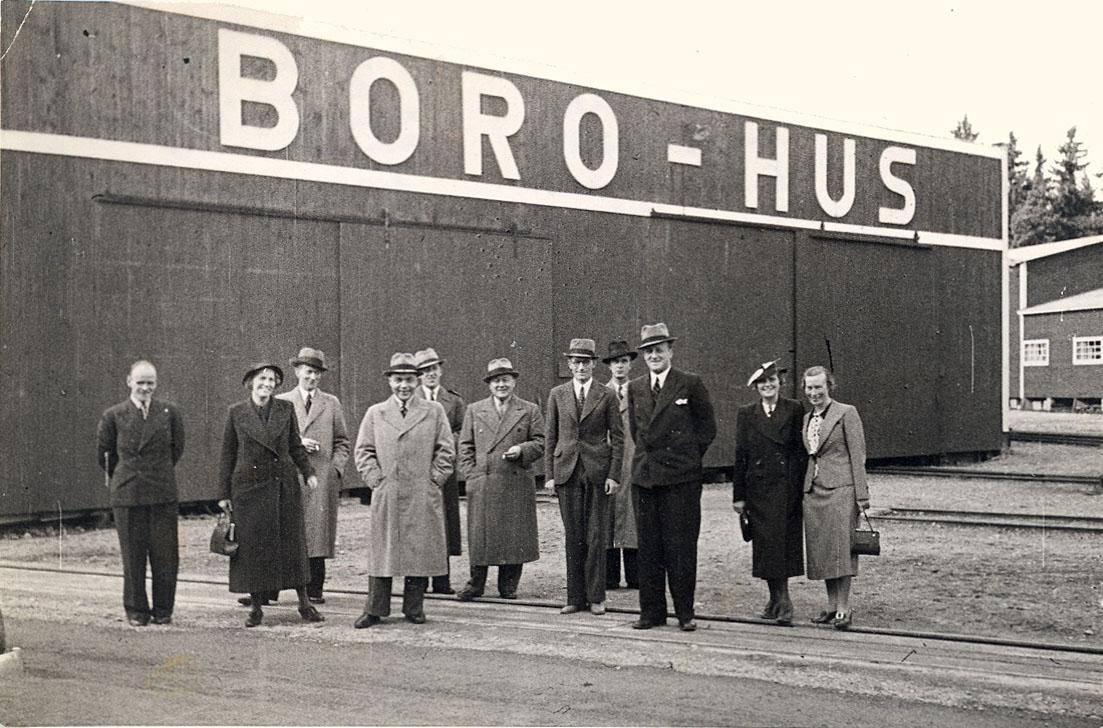 Exteriör Boro-hus