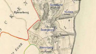 Karta över Bymarken.