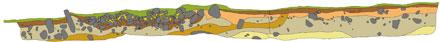 Profilritning av röjningsröse.