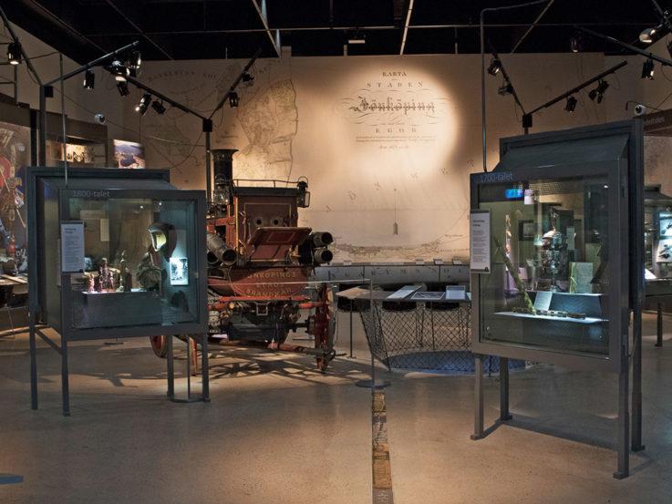 Utställningen i arkivhuset.