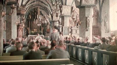 interiör i kyrka