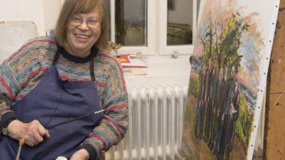 Konstnär Birgitta Andersson
