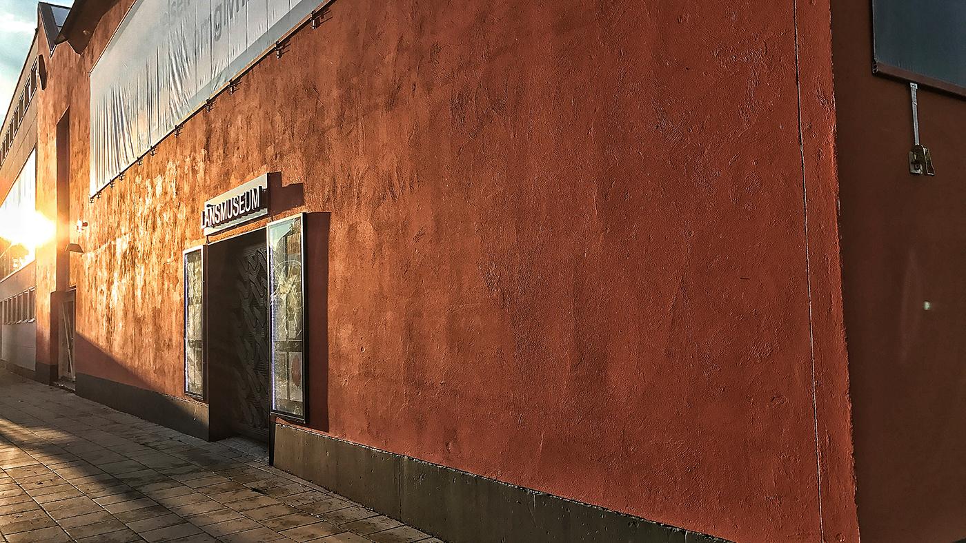 Utsidan av Jönköpings läns museum
