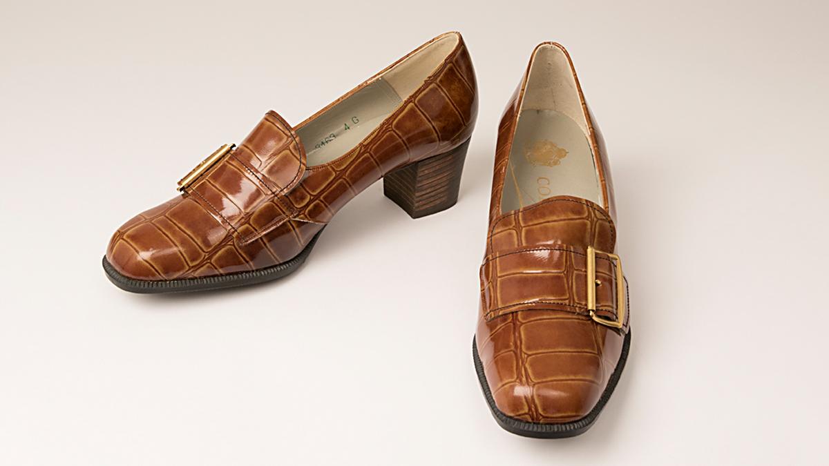 Ett par skor från hösten 1970