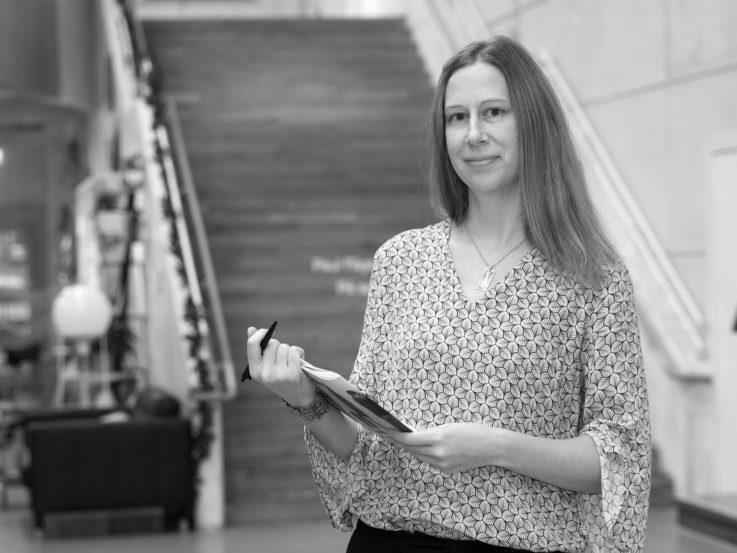 Åsa Rosén, Kommunikatör på Jönköpings läns museum