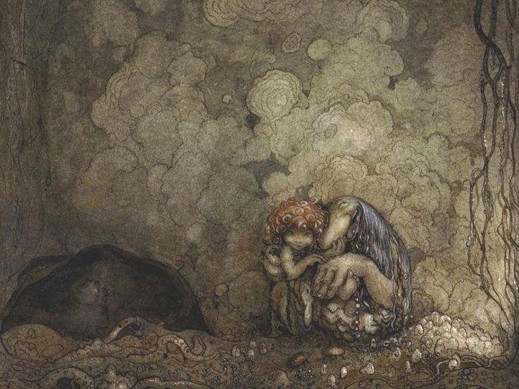 En målning av John Bauer