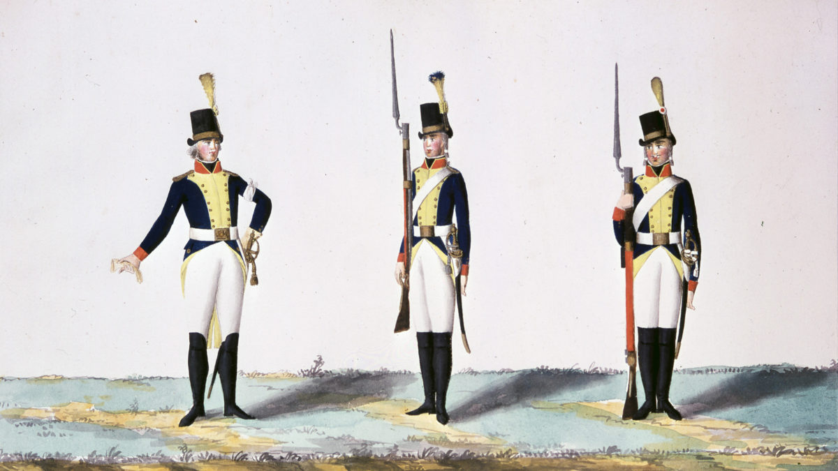 LIII B 32, C G Gillberg, 1803, Jönköpings regemente