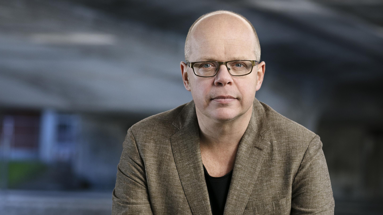Porträtt av Magnus Västerbro fotat av Johanna Hanno. Onsdagskväll med museet.