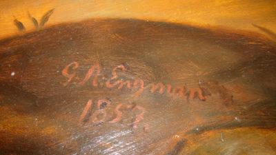 Signering av Engman.