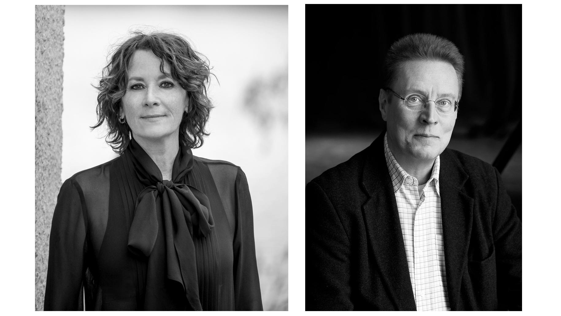 Porträttbilder av Mian Lodalen och Erik Lindfeld